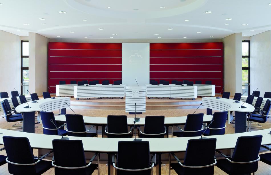 Rednerpult Plenum