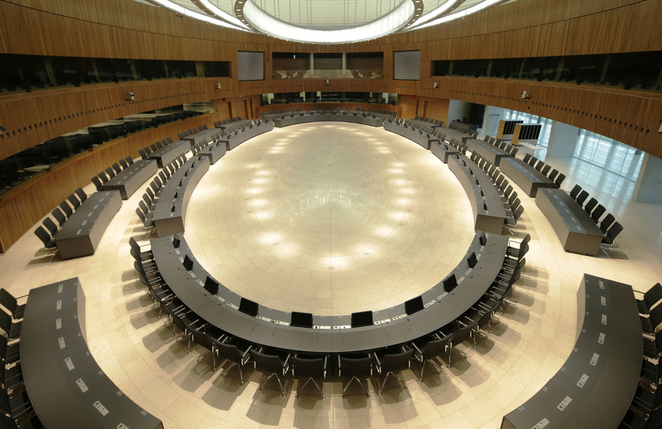 Europäischer Rat - Centre de Conferénces Luxemburg