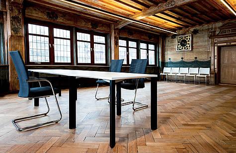 Rathaus Tübingen | Konferenztisch: cetera | Konferenzstuhl: pharao net