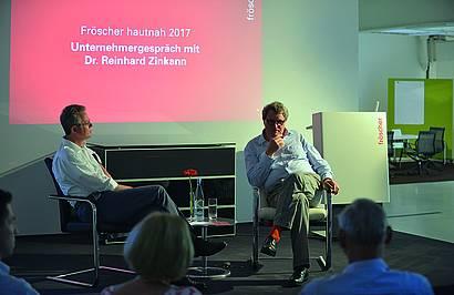 Im Gespräch: Dr. Reinhard Zinkann