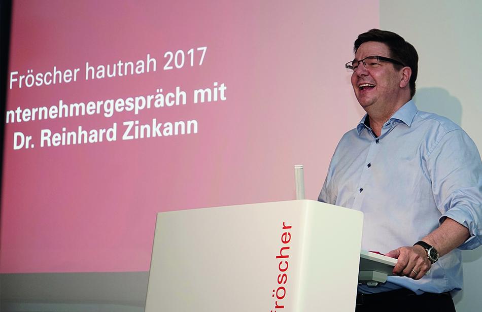 Fröscher hautnah 2017: Thomas Fröscher begrüßt die Gäste